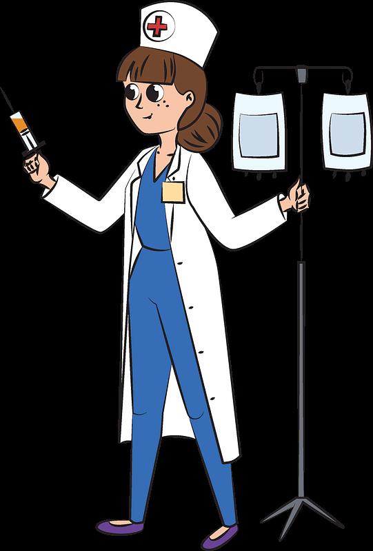 Nurse clipart transparent images
