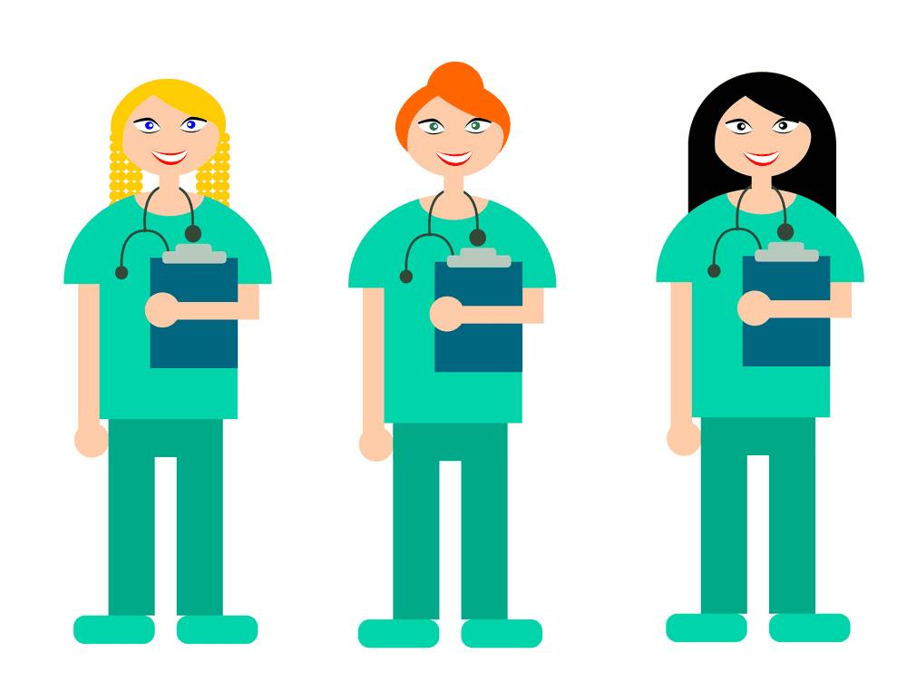 Nurses clipart