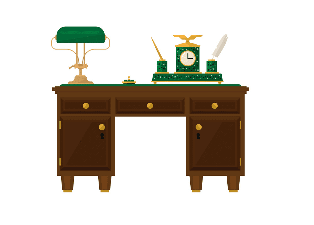 Office Desk clipart png free