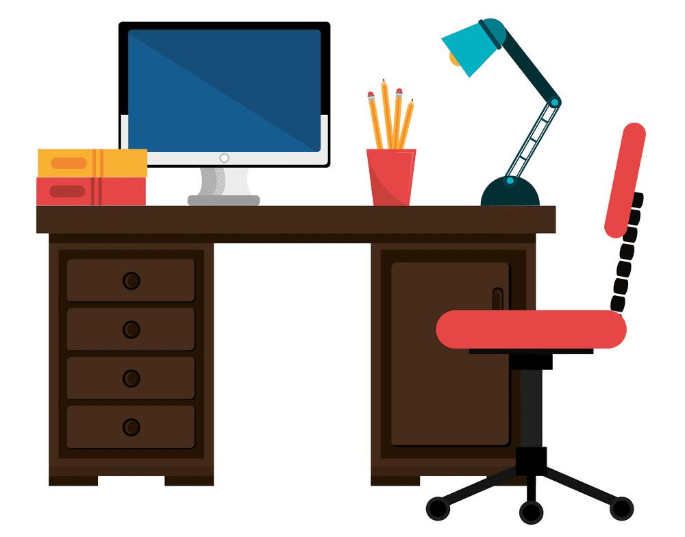 Office Desk clipart png
