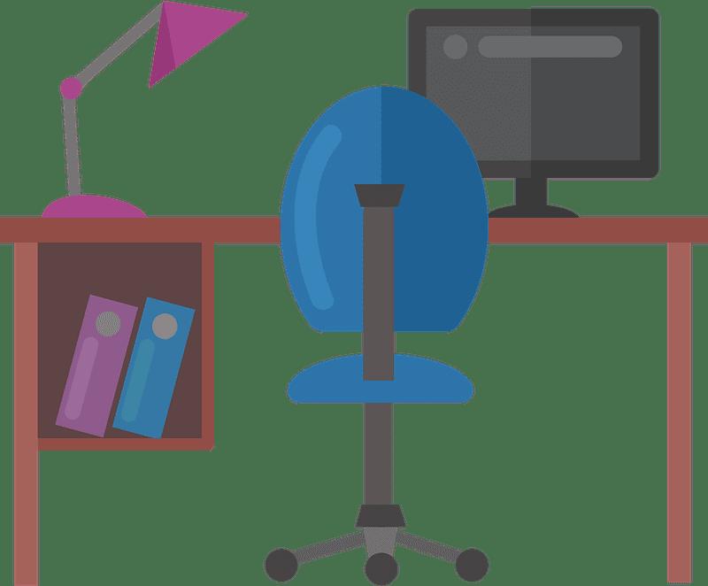 Office Desk clipart transparent 1