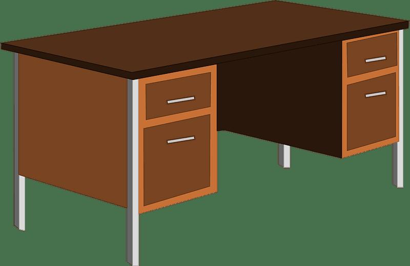 Office Desk clipart transparent 6
