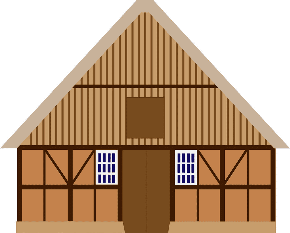 Old Barn clipart free