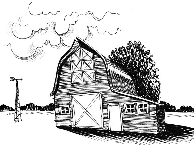Old Barn clipart png