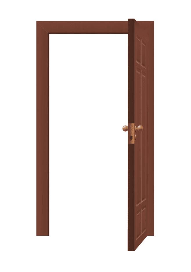Open Door clipart 1