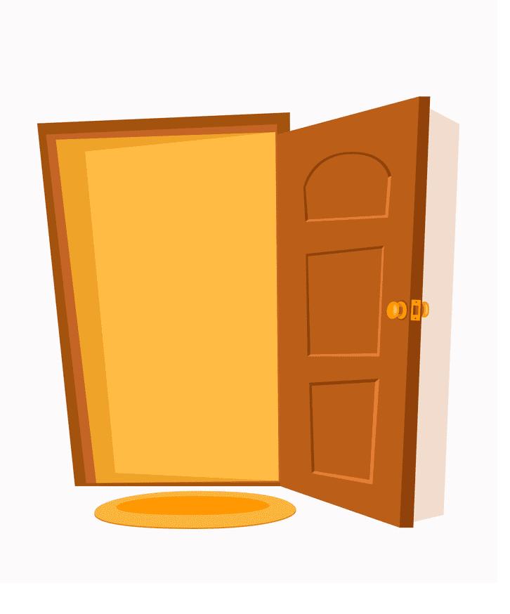 Open Door clipart 3