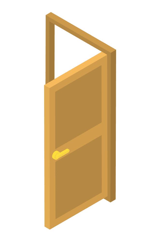 Open Door clipart 4