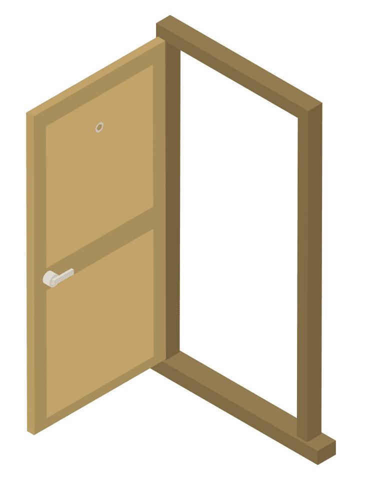 Open Door clipart 5