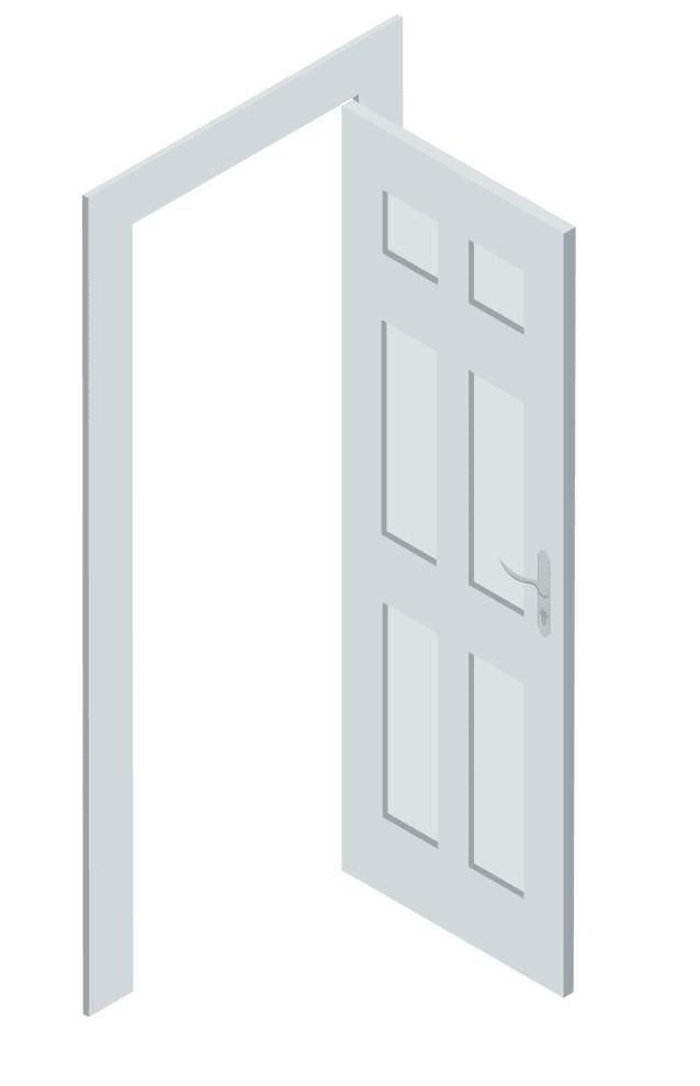Open Door clipart 6