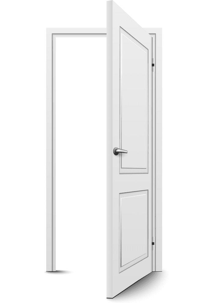 Open Door clipart 7