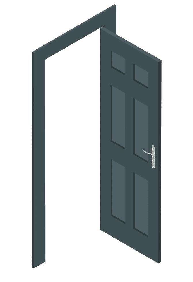 Open Door clipart 8