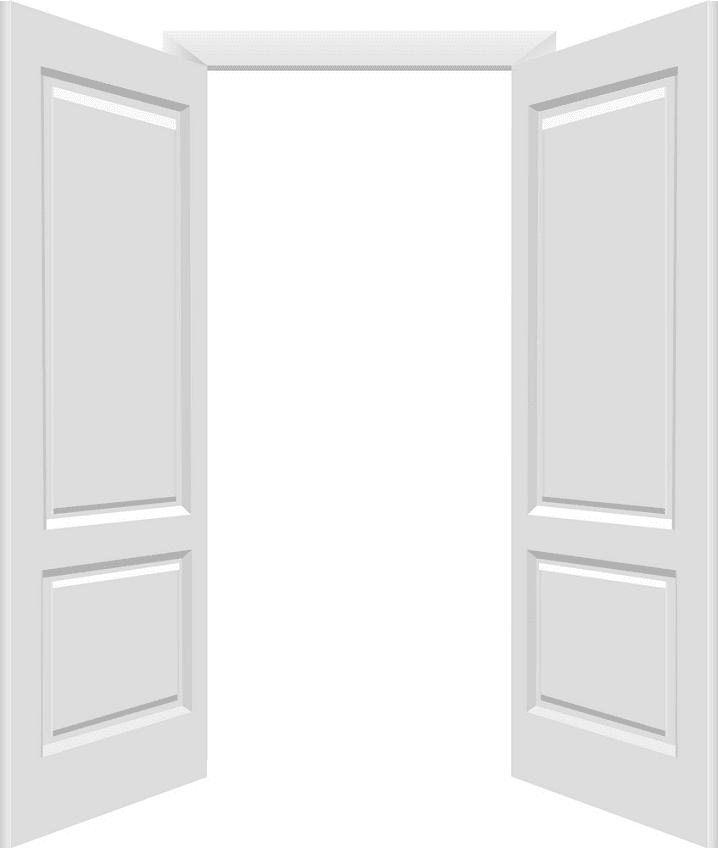 Open Door clipart for free