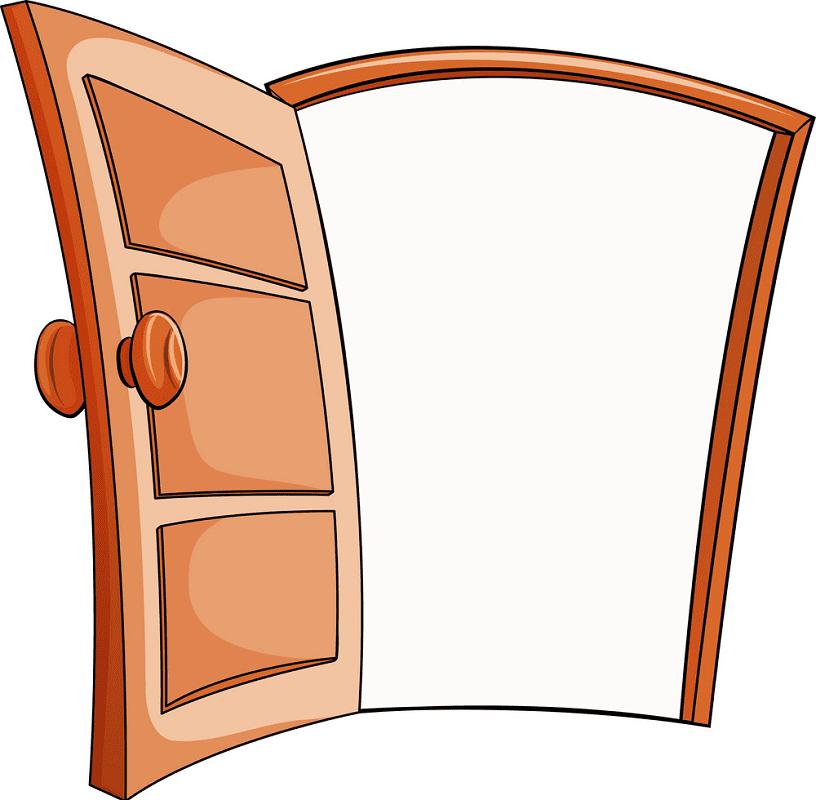 Open Door clipart free