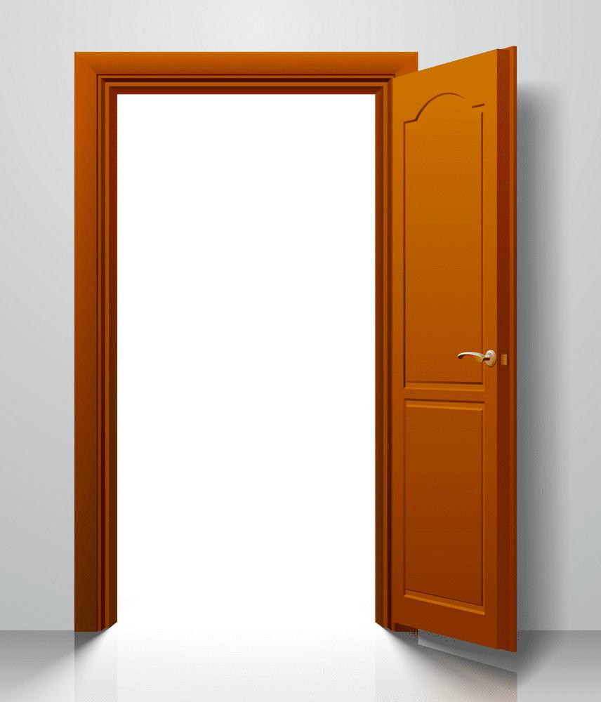 Open Door clipart image