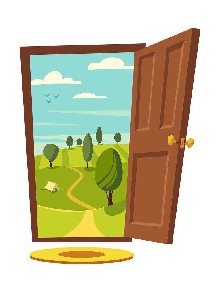 Open Door clipart images