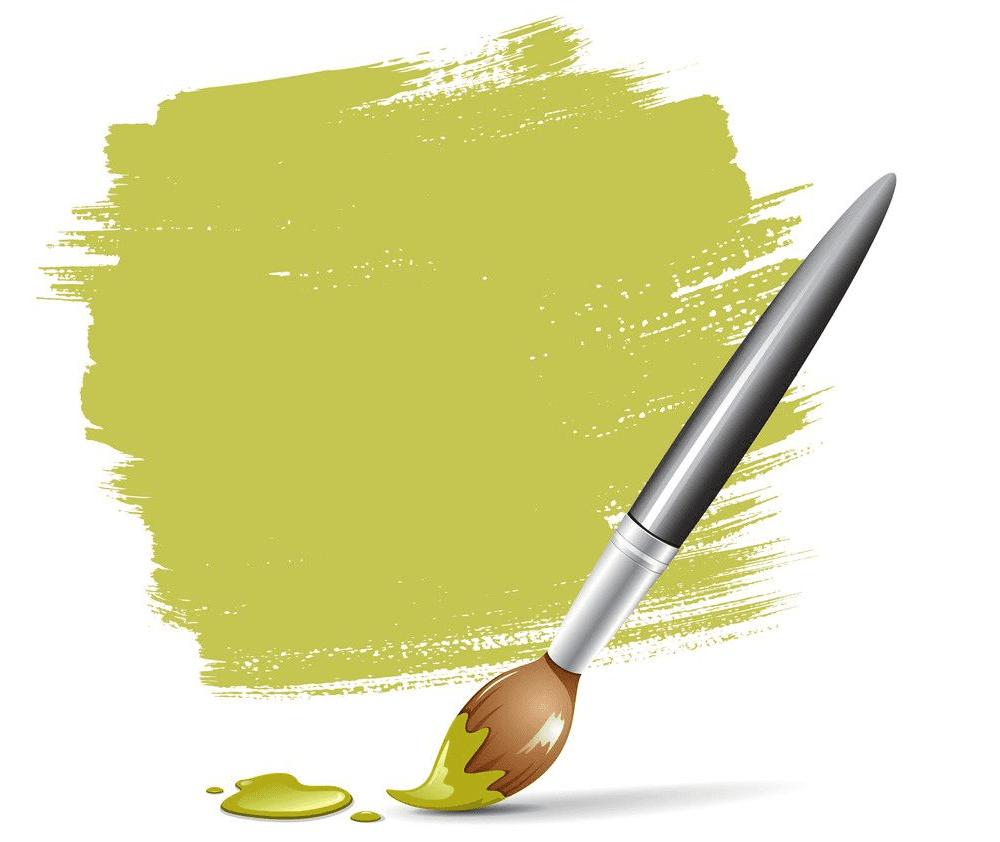 Paintbrush clipart 1