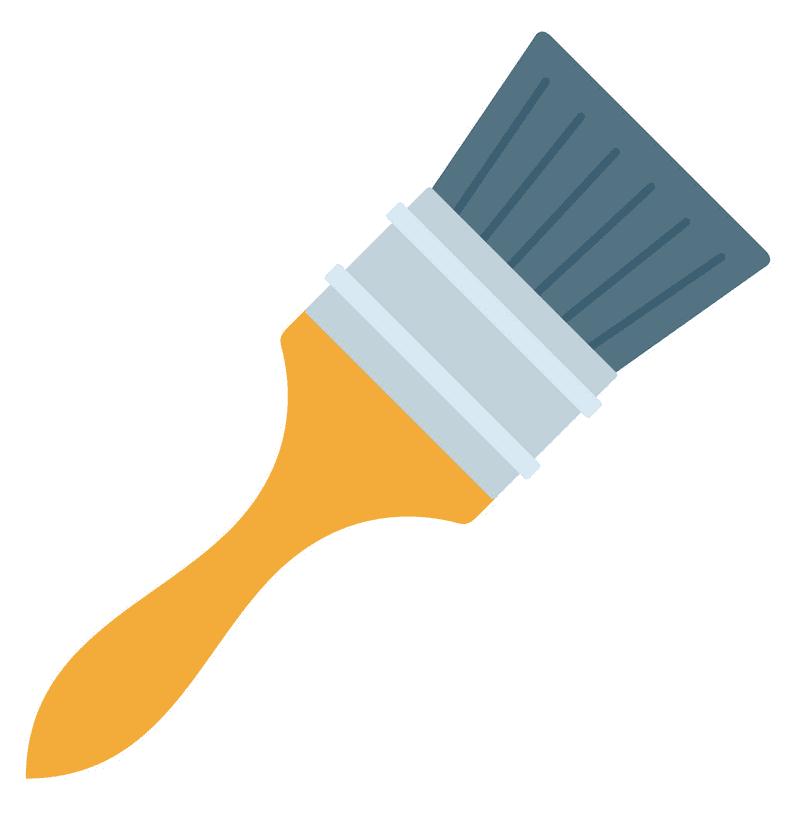 Paintbrush clipart 10