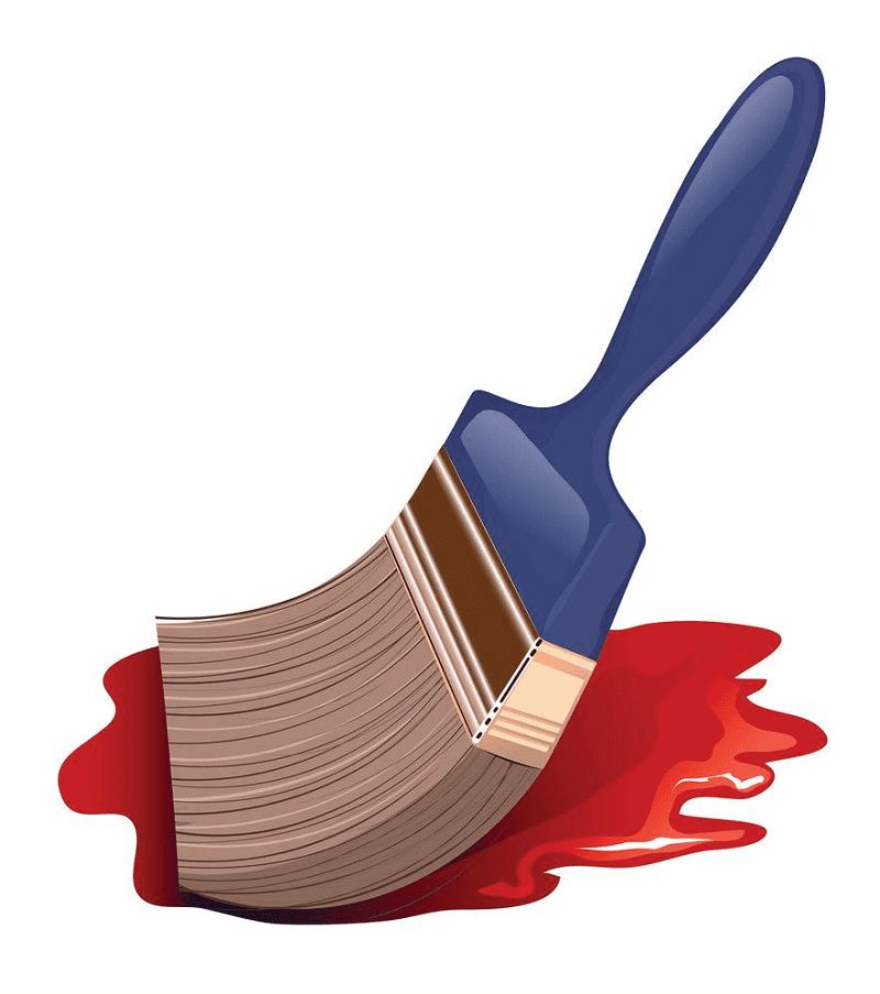 Paintbrush clipart 2