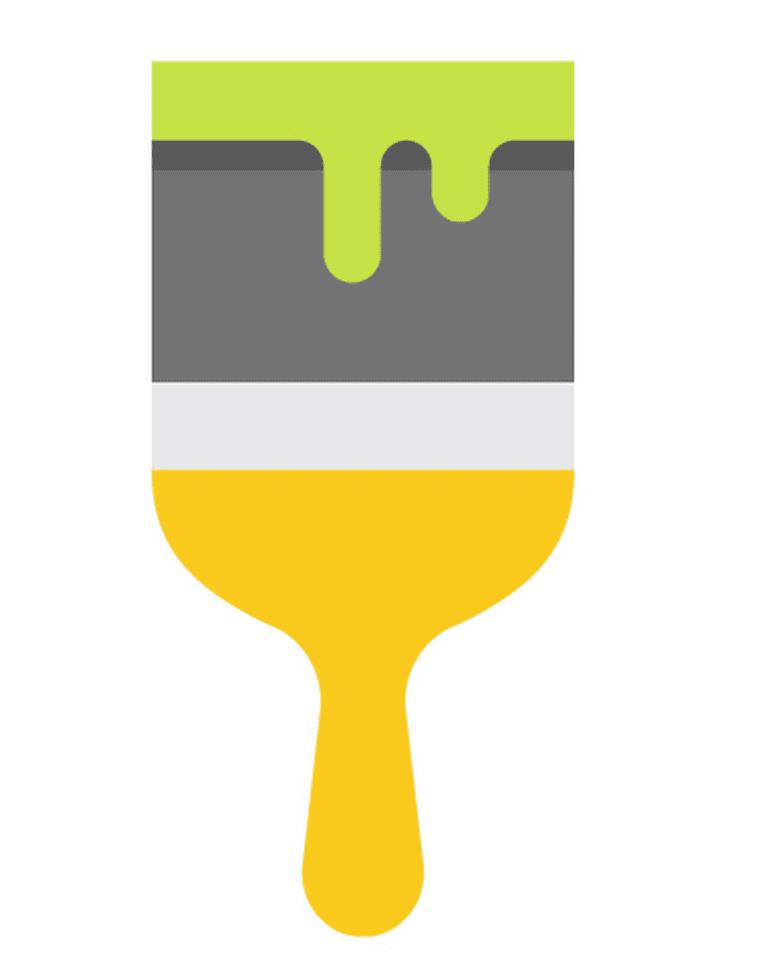Paintbrush clipart 5