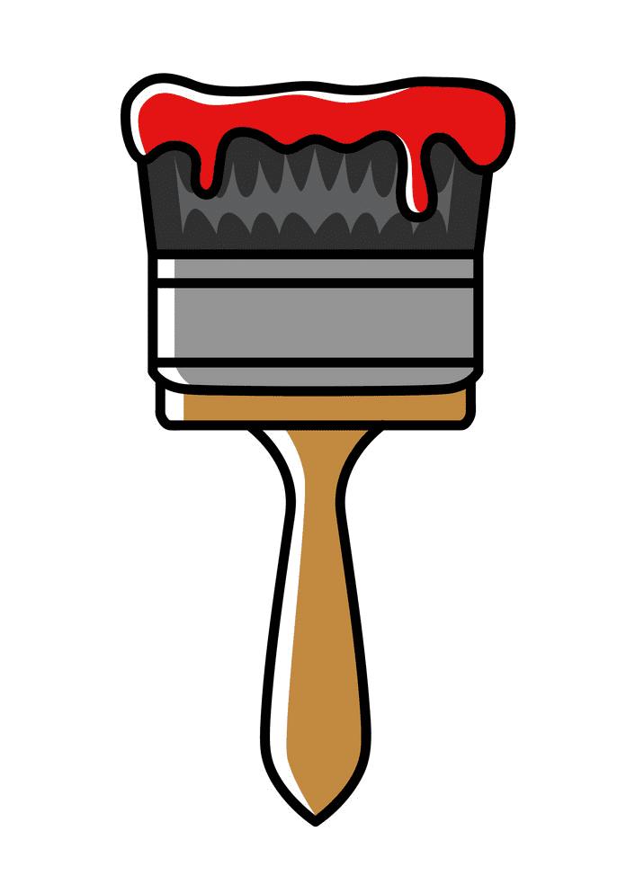 Paintbrush clipart 7