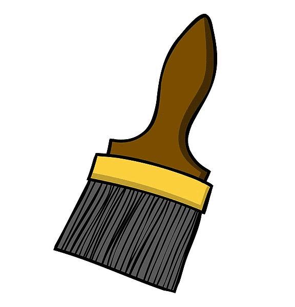 Paintbrush clipart 8