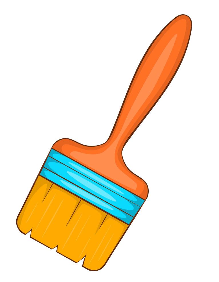 Paintbrush clipart 9