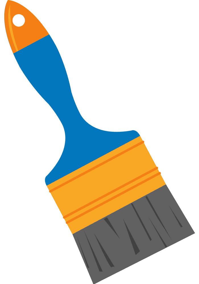 Paintbrush clipart free 2