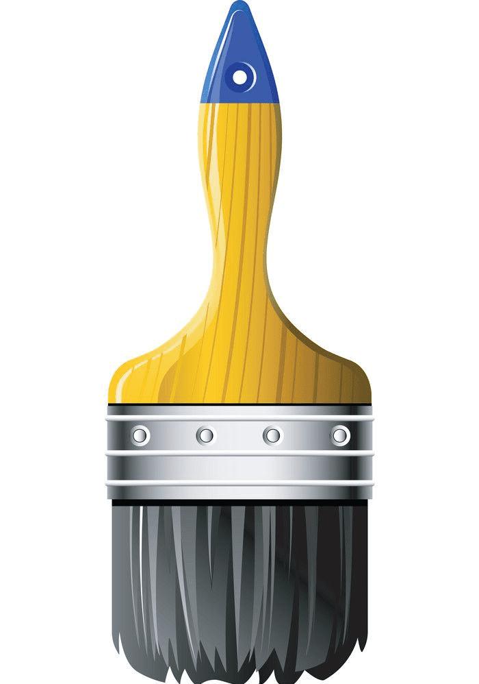 Paintbrush clipart free 3