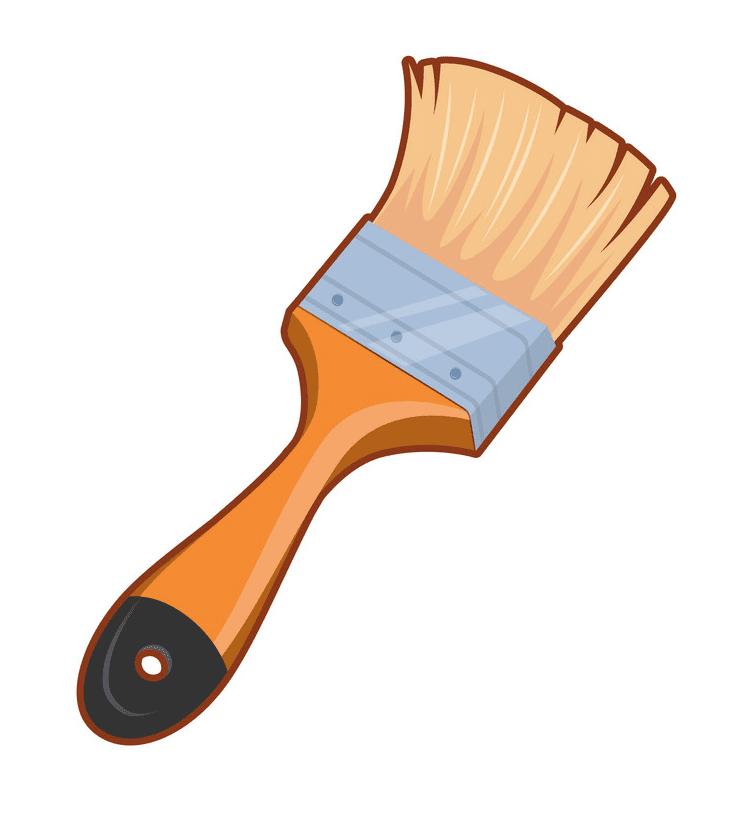 Paintbrush clipart free 4