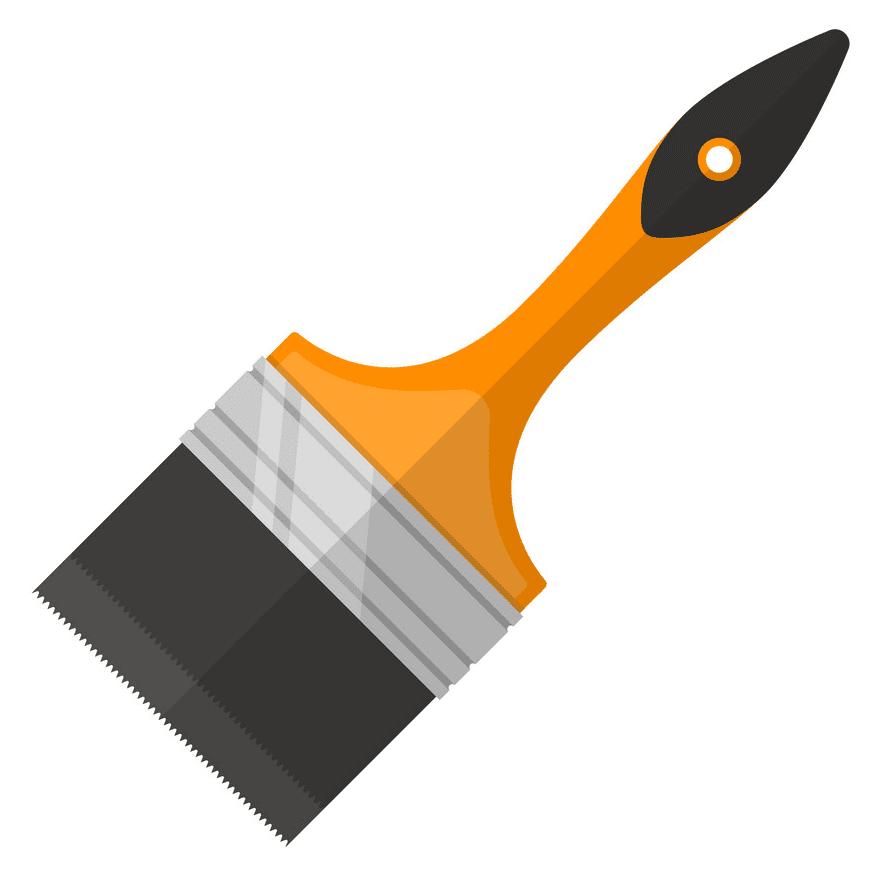 Paintbrush clipart free image