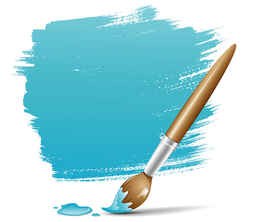 Paintbrush clipart png 2