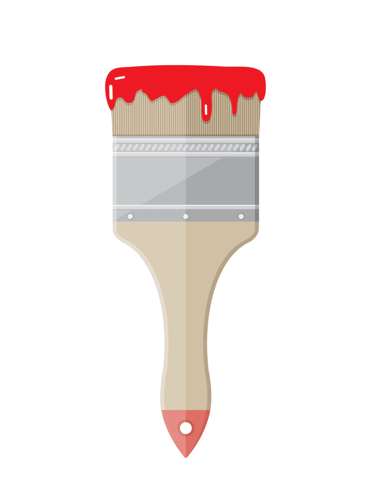 Paintbrush clipart png 4