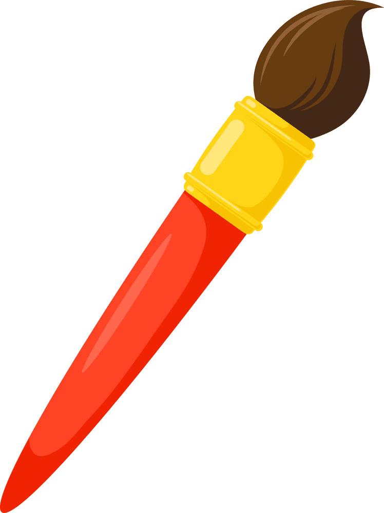 Paintbrush clipart png 9