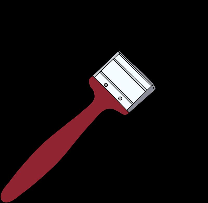 Paintbrush clipart transparent 1