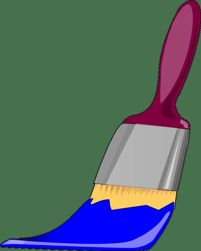 Paintbrush clipart transparent 11