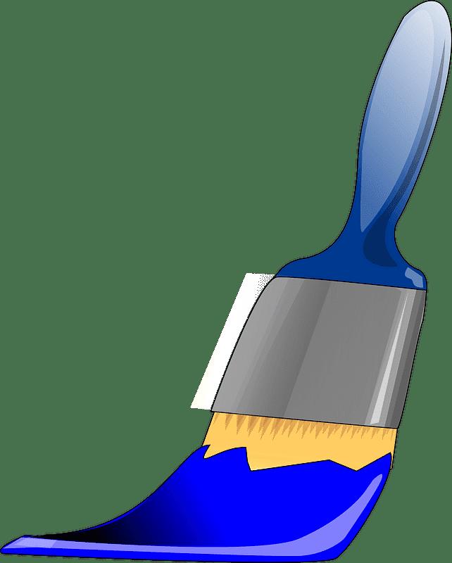 Paintbrush clipart transparent 15