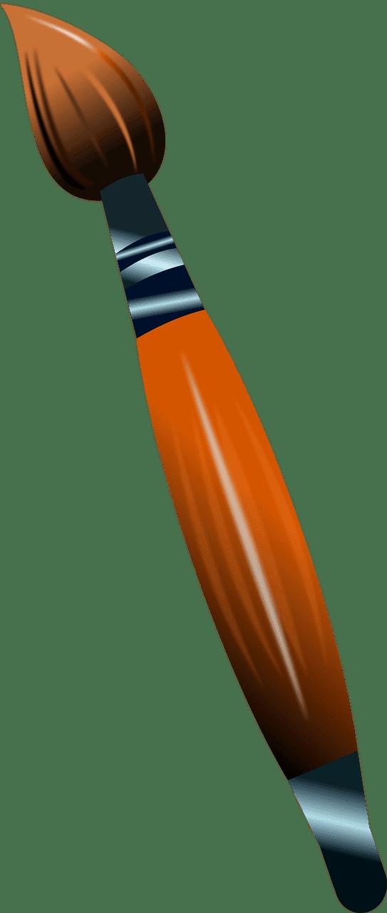 Paintbrush clipart transparent 16