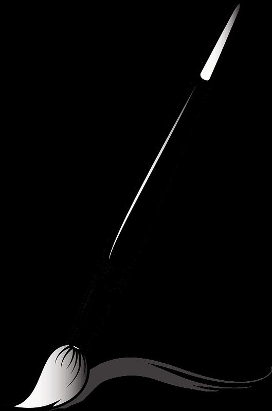 Paintbrush clipart transparent 4