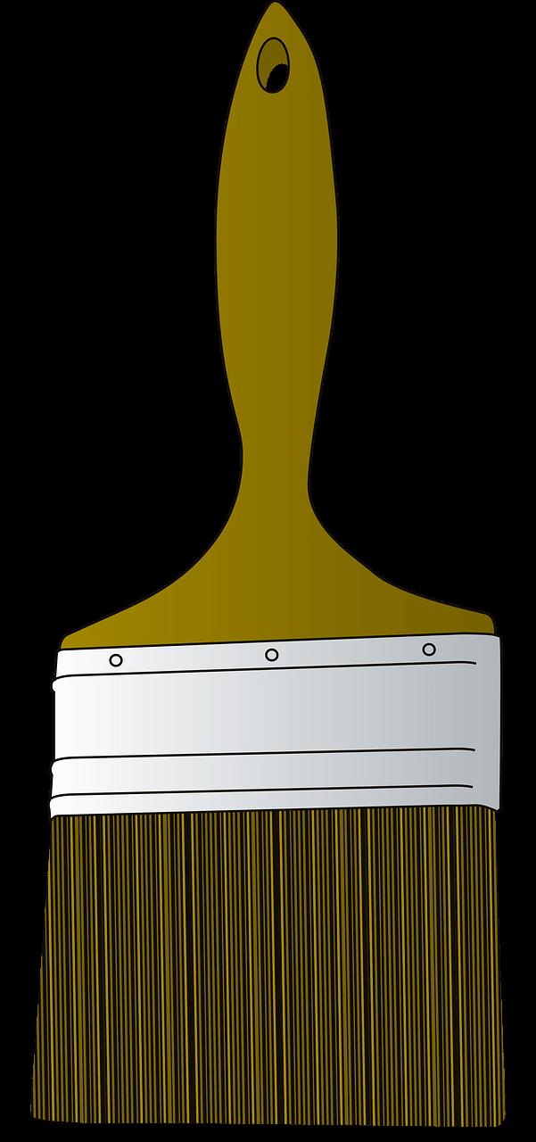 Paintbrush clipart transparent 8
