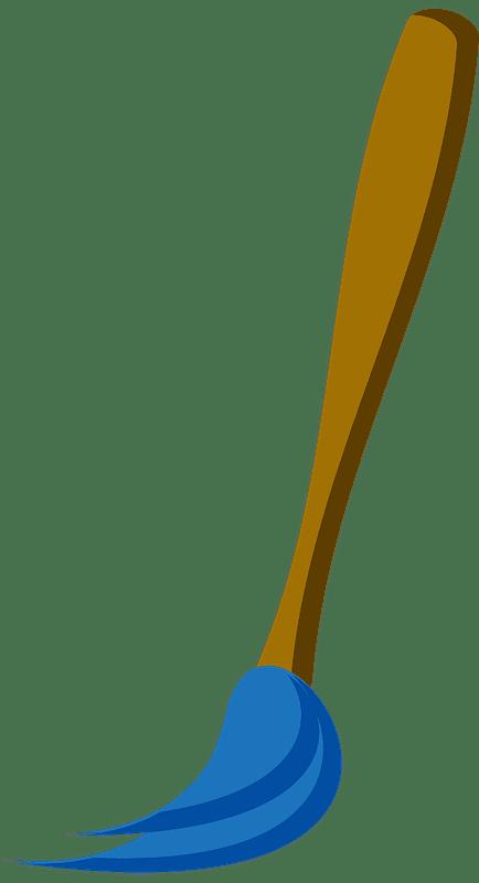 Paintbrush clipart transparent background 12
