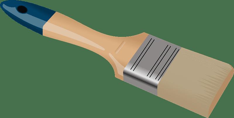 Paintbrush clipart transparent background 9