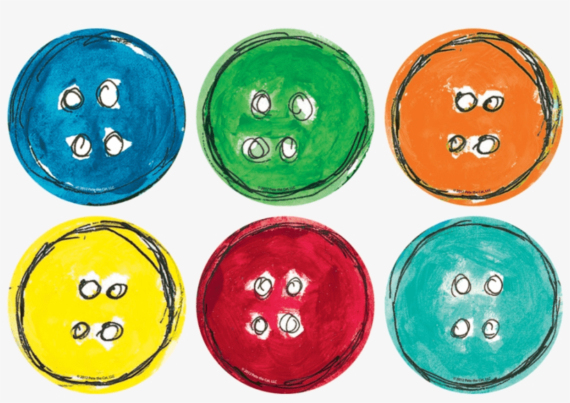 Pete The Cat Buttons clipart free