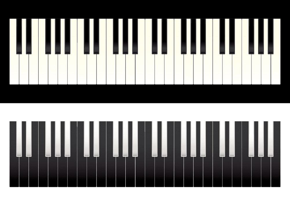 Piano Keyboard clipart png image
