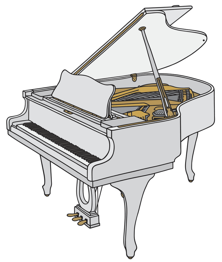 Piano clipart free image