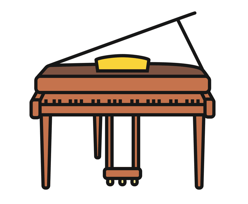 Piano clipart free images