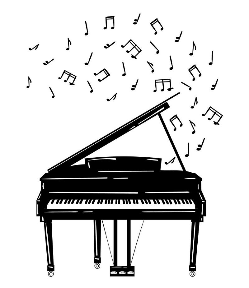 Piano clipart image