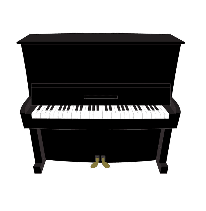 Piano clipart png free