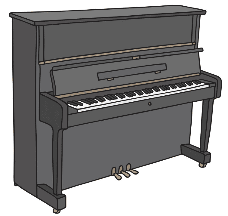 Piano clipart png image