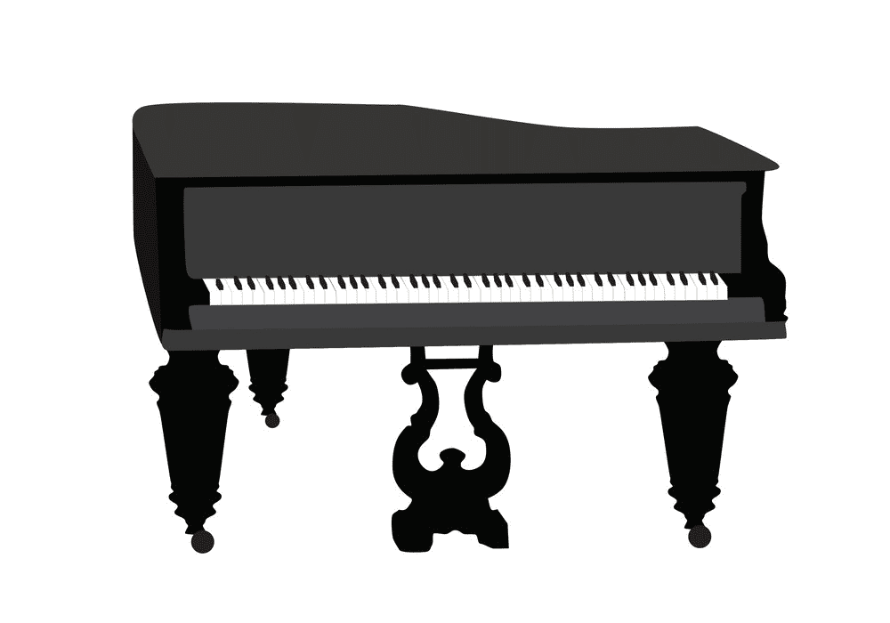 Piano clipart png images