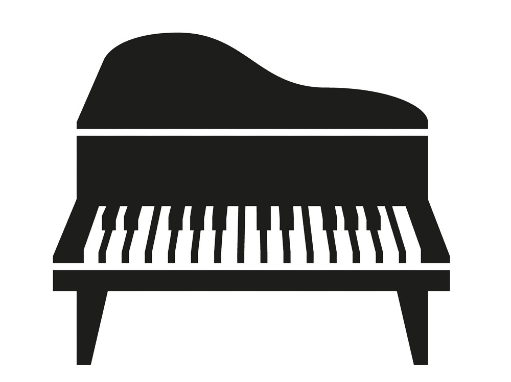 Piano clipart png
